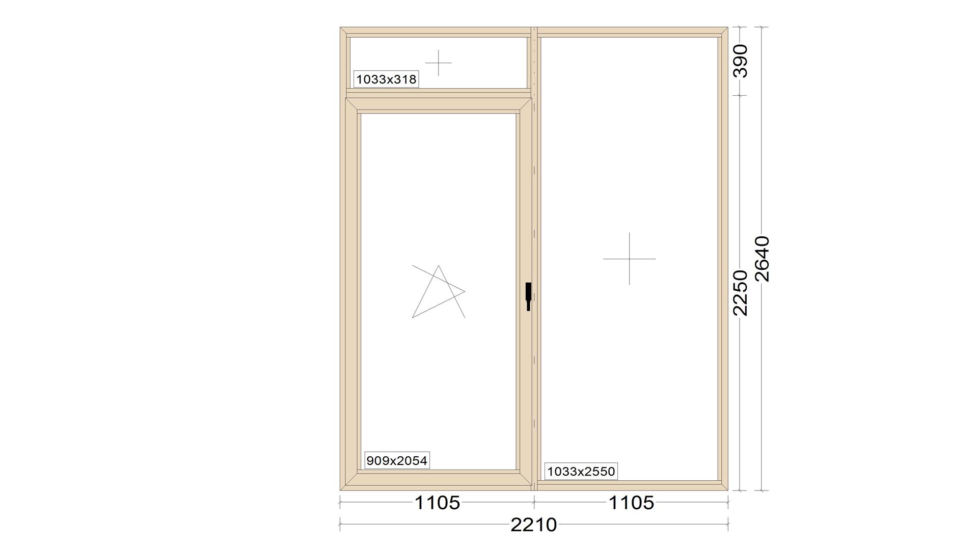 Алюминиевые окна 72 серии(теплое)