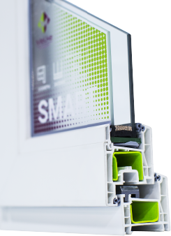 Пластиковые окна Melke Smart