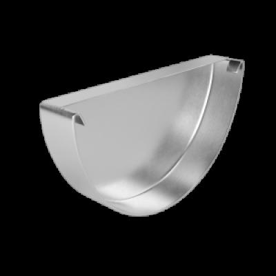 Заглушка желоба LINKOR 120мм типоразмеры) (алюминий толщина 1,2 мм)