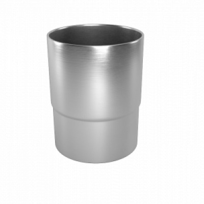 Соединитель трубы LINKOR Ø 100 мм-130 мм(алюминий толщина 1,2 мм)