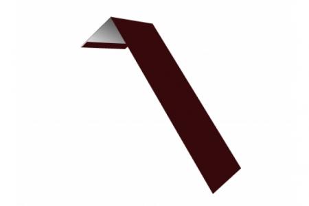 Планка ветровая(лобовая) LINKOR 150 мм 0,45 мм L=2 м RAL 3005