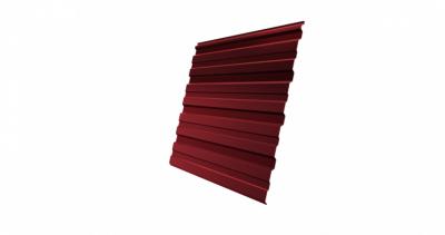 Профнастил С10R Дачный PE RAL 3011 коричнево-красный