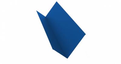 Планка примыкания 150х250 0,4 PE с пленкой RAL 5005 сигнальный синий