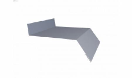 Отлив LINKOR 200 мм RAL 9006 L=2 м