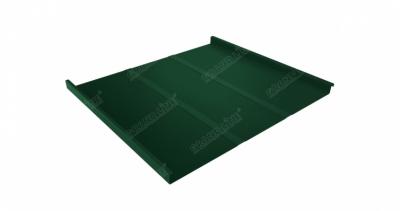 Фальц двойной стоячий Профи Grand Line 0,5 Atlas с пленкой на замках RAL 6005 зеленый мох