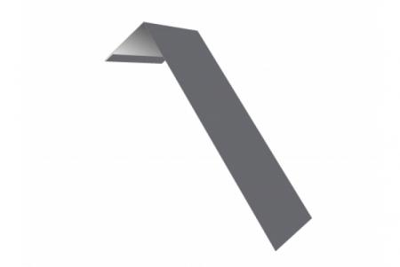 Планка ветровая(лобовая) LINKOR 150 мм 0,45 мм L=2 м RAL 7004