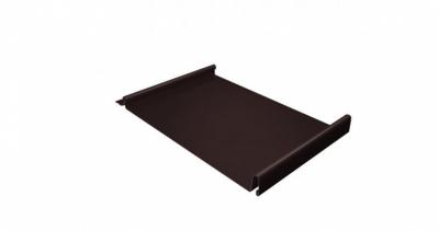 Кликфальц 0,7 PE с пленкой на замках RAL 8017 шоколад