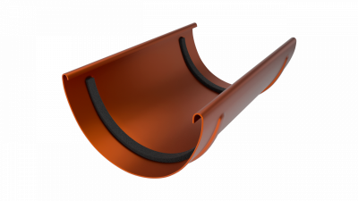 Желоб водосточный LINKOR 120мм типоразмеры)-L=3 м (алюминий толщина 1,2 мм)