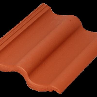 Черепица Baltic Tile Sea Wave кирпично-красный