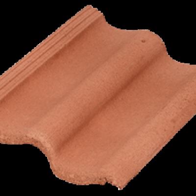 Черепица Baltic Tile Sea Wave красный неокр.