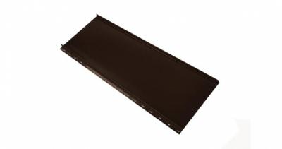 Кликфальц mini Grand Line 0,5 Стальной бархат с пленкой на замках RR 32 темно-коричневый школад