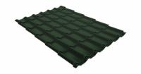 Металлочерепица классик 0,45 Drap RAL 6020 хромовая зелень