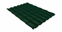 Металлочерепица модерн 0,45 Drap RAL 6005 зеленый мох