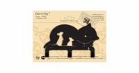 Крючок трехрожковый Duck & Dog №3-05 Кошка