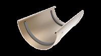Соединитель желоба LINKOR 120мм (алюминий толщина 2 мм) RAL 1013