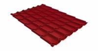 Металлочерепица классик 0,45 PE RAL 3009 оксидно-красный