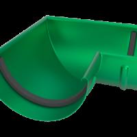 Угол желоба LINKOR(2 уплотнителя EPDM,2 паза) 90⁰ 120мм (алюминий толщина 1,2 мм)