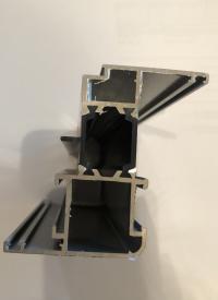 Алюминиевое окно серия 65 (теплое) 430*2250