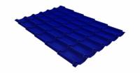 Металлочерепица модерн 0,45 PE RAL 5002 ультрамариново-синий