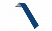 Планка ветровая(лобовая) LINKOR 150 мм 0,45 мм L=2 м RAL 5005