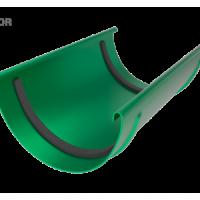 Соединитель желоба LINKOR (2 уплотнителя EPDM, 2 паза) 120мм типоразмеры) (алюминий толщина 2 мм)