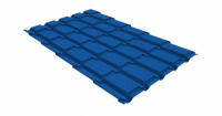 М/ч квадро 0,4 PE RAL 5005 сигнальный синий