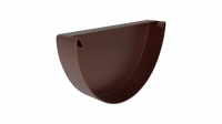 Заглушка желоба LINKOR 150мм типоразмеры) (алюминий толщина 1,2 мм)