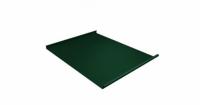 Фальц двойной стоячий 0,5 Atlas с пленкой на замках RAL 6005 зеленый мох