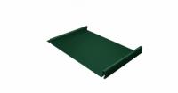 Кликфальц 0,7 PE с пленкой на замках RAL 6005 зеленый мох