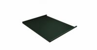Фальц двойной стоячий Grand Line 0,5 Velur20 с пленкой на замках RAL 6020 хромовая зелень