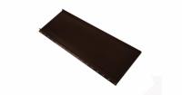 Кликфальц mini Grand Line 0,5 Satin с пленкой на замках RAL 8017 шоколад