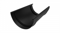 Соединитель желоба LINKOR  120мм (алюминий толщина 2 мм) RAL 9005