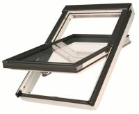 Окно мансардное FAKRO влагостойкое, полиуретановый лак 66*98 FTU -V U3