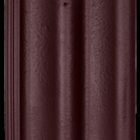 Черепица Baltic Tile Sea Wave бордовый