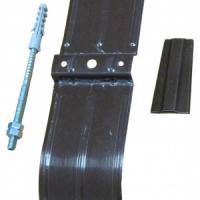 Хомут трубы 100 мм RAL 8017