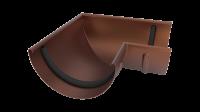 Угол желоба LINKOR 90⁰ 150мм (алюминий толщина 1,2 мм)RAL 8017
