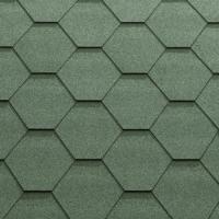 Однослойная гибкая черепица Classic-KL Зеленый