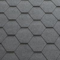 Однослойная гибкая черепица Classic-KL Серый