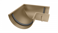 Угол желоба LINKOR 90⁰ 120мм (алюминий толщина 1,2 мм) RAL 1014