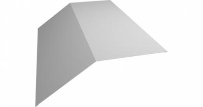 Планка конька плоского 190х190 0,55 Zn